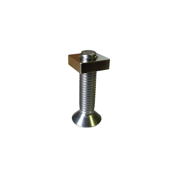 screw plate for connection between board and foil