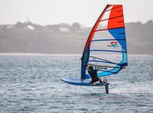 Antonin windfoil navigation